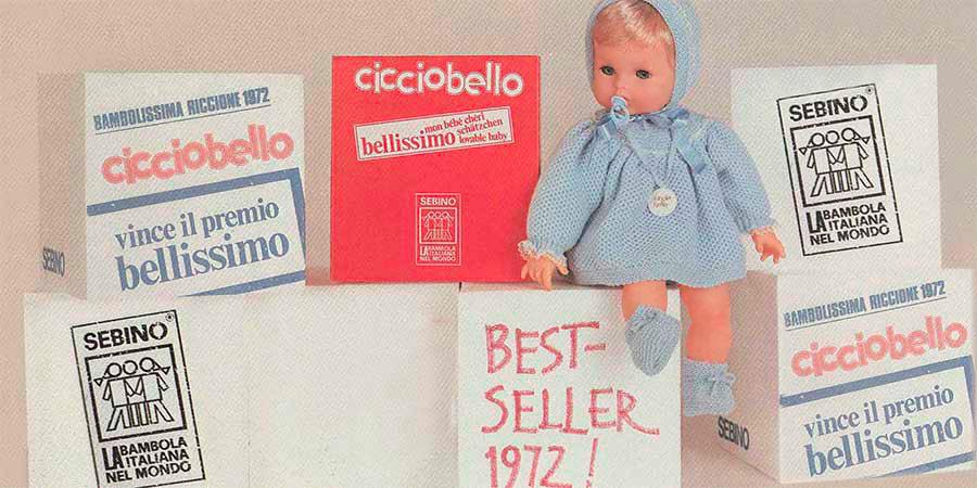 Cicciobello 1972 vince premio Bellissimo