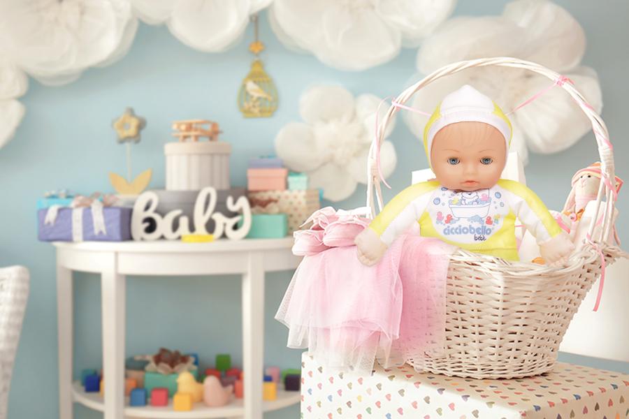 Cicciobello Bebè e prodotti per il bagnetto, un'idea regalo originale per un baby shower