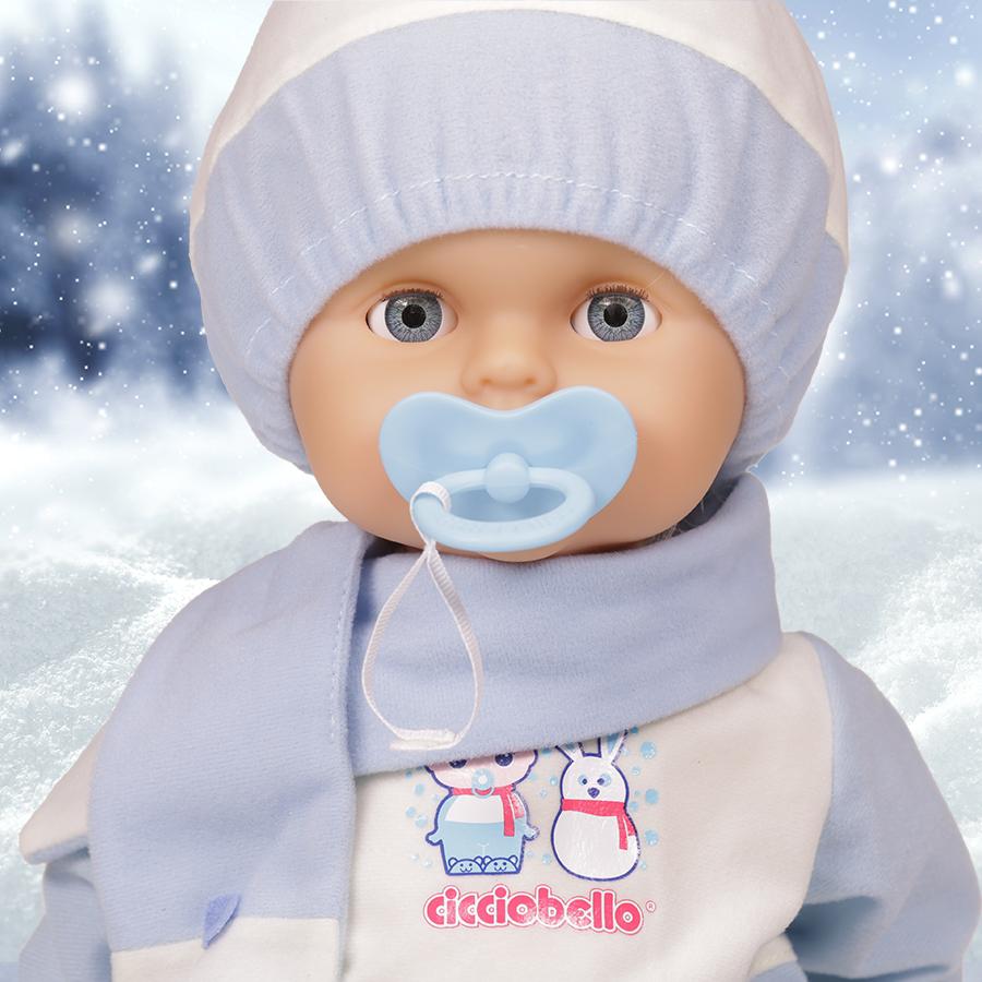 Cicciobello Fiocco di Neve e sfondo innevato