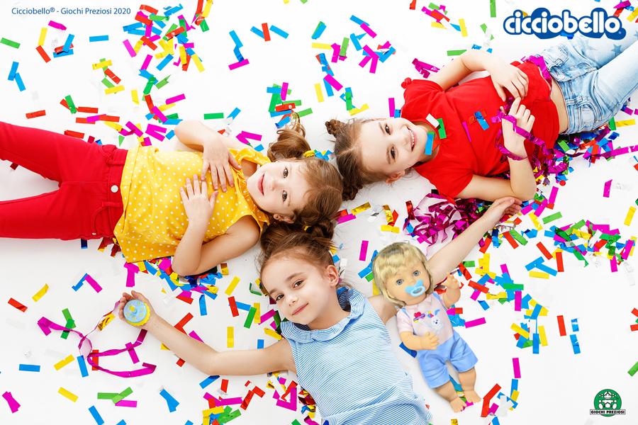 Festa di compleanno tra bambini con Cicciobello Happy Birthday