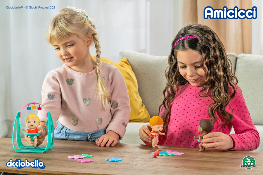 Amicicci - set play time